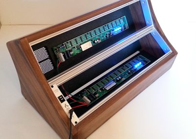 Tiptop Access & Bus | 6U Walnut Eurorack Case