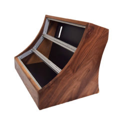 9U Eurorack Case Walnut