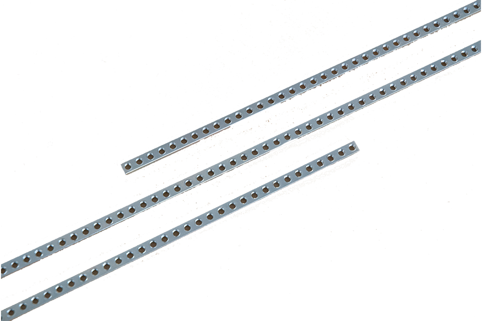 Eurorack threaded strips