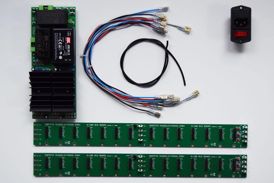 Doepfer PSU3 & Bus Boards 6U Bundle