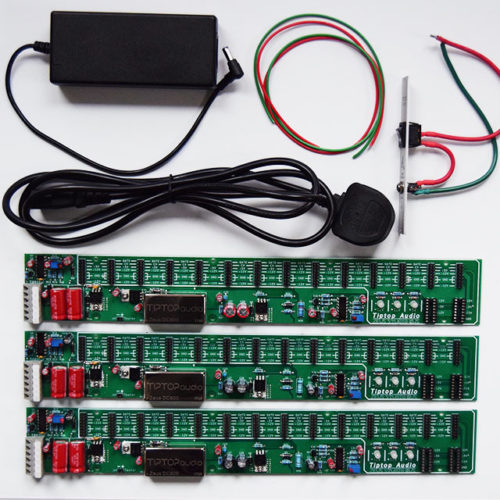 Tiptop Audio Power Bundle with Zeus Access, 3 x Studio Bus Board